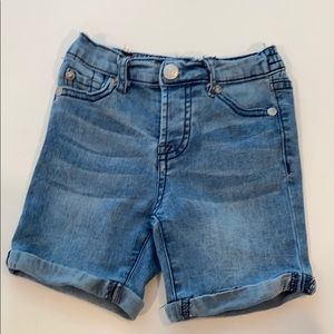 7 for all mankind denim shorts 18m